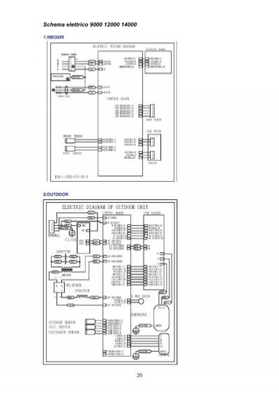 Schema Elettrico Condizionatore : Schema elettrico