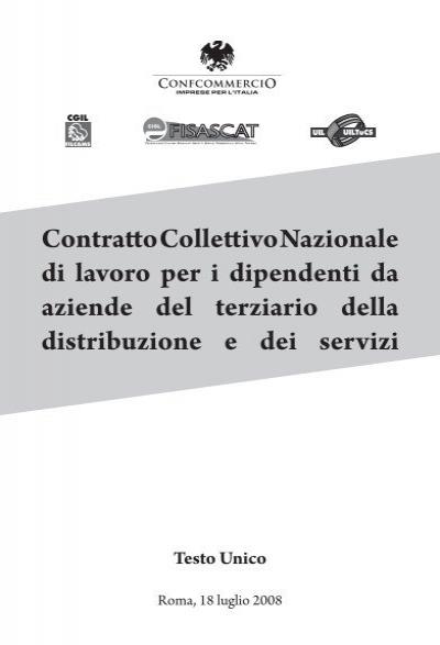 Ccnl per for Ccnl terziario distribuzione e servizi