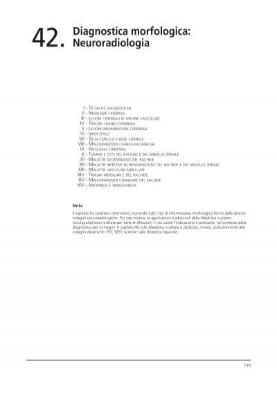 Diagnostica Morfologica Neuroradiologia Centauro