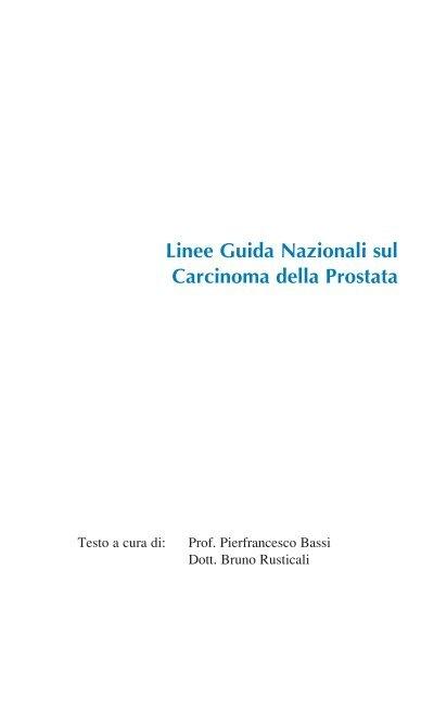 sorveglianza attiva nel carcinoma prostatico ppt 2017