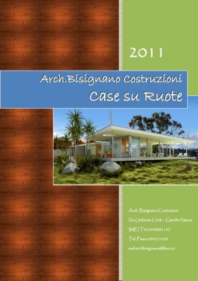 Catalogo di case mobili bisignano case for Catalogo di mobili