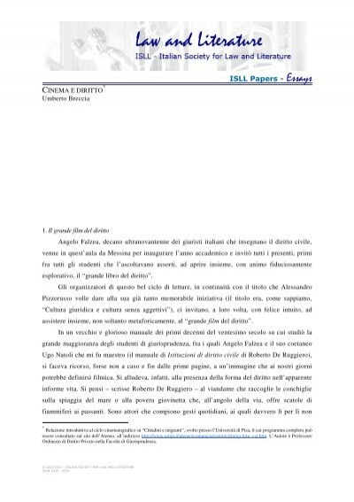 Law in society essay