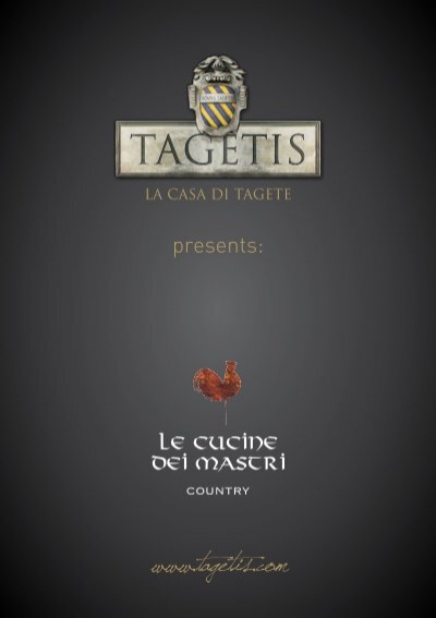 Le cucine dei mastri Country - Tagetis