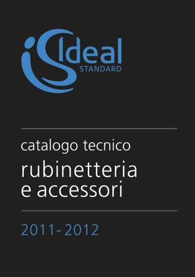 Rubinetteria Active Ideal Standard.Rubinetteria E Accessori Cataloghi Ideal Standard