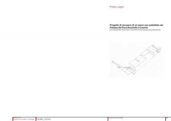 Progetto di recupero di un piano con sottotetto nel ... - Promo legno