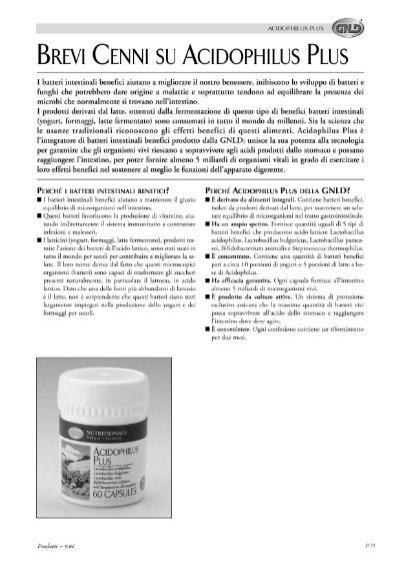 Acidophilus Plus Gnld Salute E Benessere