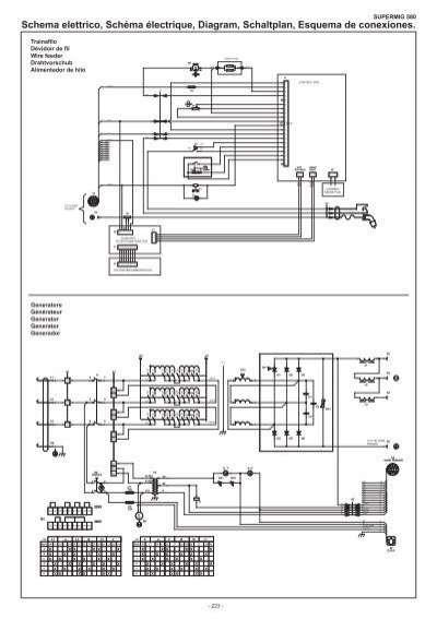 schema elettrico  sch u00e9ma
