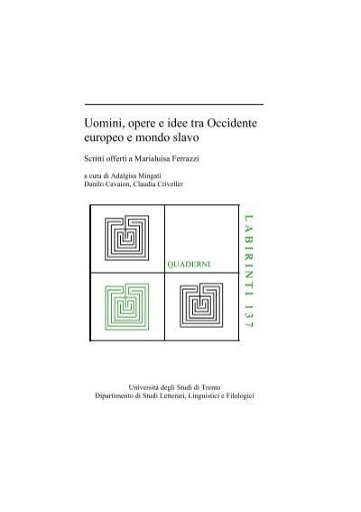 Copertina 137 - Unitn-eprints - Università degli Studi di Trento