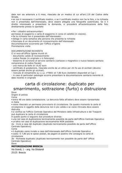 Stunning Che Documenti Servono Per La Carta Di Soggiorno Pictures ...