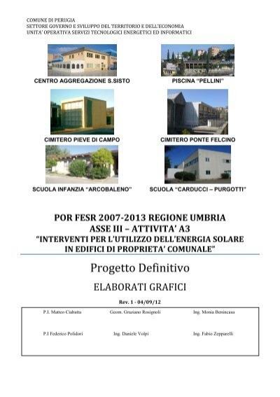 Elaborati Grafici Comune Di Perugia