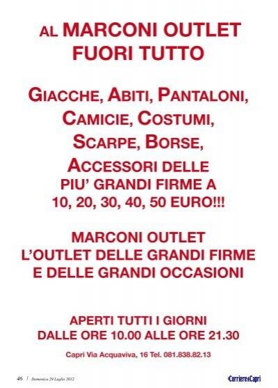 AL MARCONI OUTLET 46 | Do