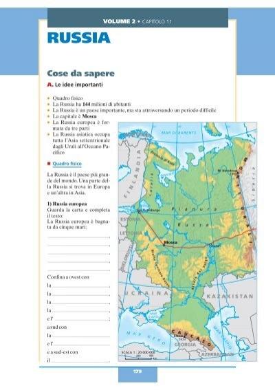 Cartina Fisica Russia Asiatica.Russia Benvenuti Zanichelli Il Sito Per Imparare L Italiano Dedicato