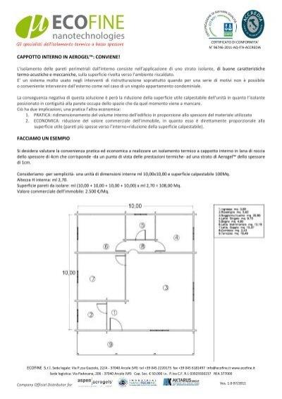 Cappotto interno in aerogel conviene ecofine srl - Costo cappotto interno ...