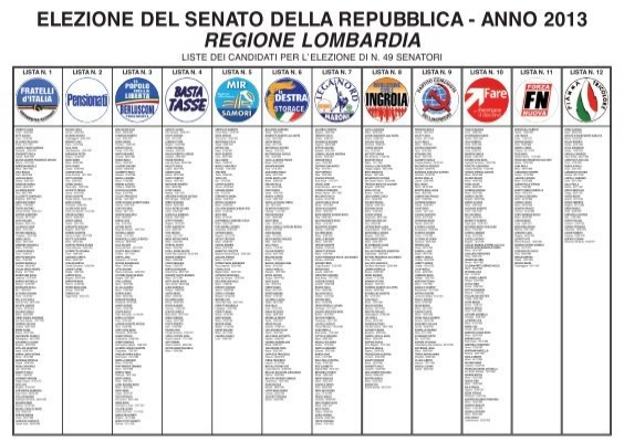 Scarica l 39 allegato comune di cellatica for Lista senatori