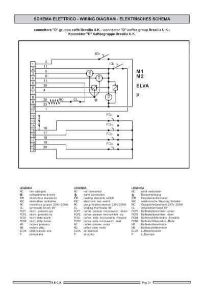 Schema Elettrico Elettrovalvola : Schema elettrico wiring
