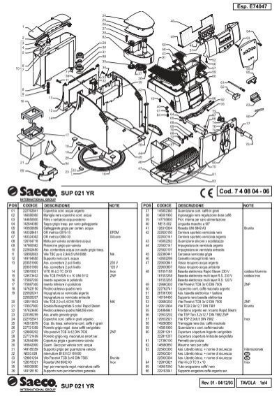 e74047 rev02 saeco incanto r s indd coffee automat. Black Bedroom Furniture Sets. Home Design Ideas
