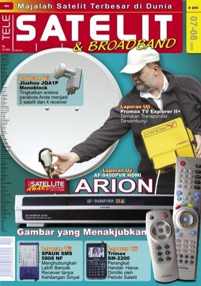Opini Ahli Tele Satellite International Magazine