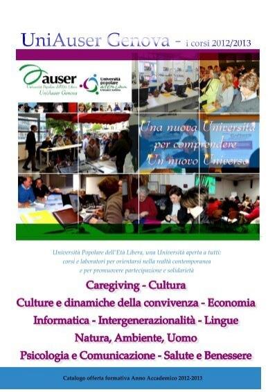 Circolo Territoriale Uniauser Alta Valbisagno Genova Auser Liguria