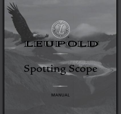 Leupold Scope Manual