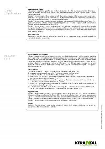 Campi d applicazione de - Termointonaco kerakoll ...
