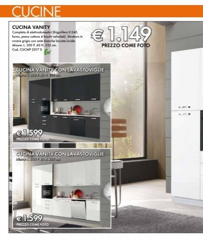 cucine CUCINA VANITY Comp