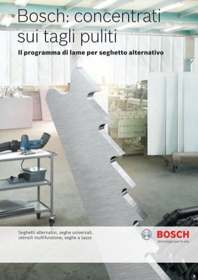 Bosch 2608661691 Utensile da taglio universale HCS per giunti AIZ 28 SC 28 x 55 mm