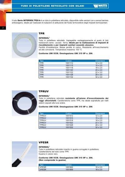Tubo di polietilene retic for Collegamento del tubo di rame al pex
