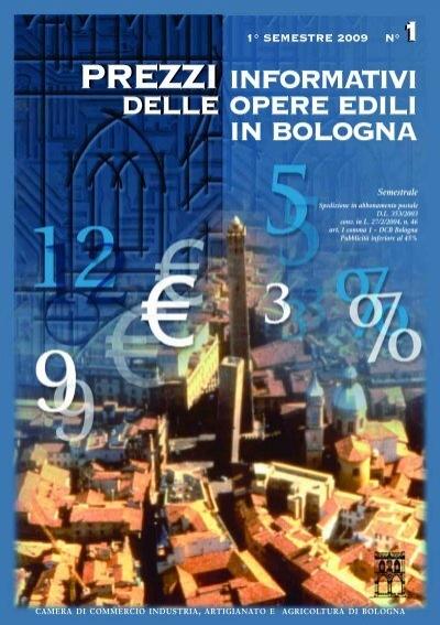 Prezzario camera di commercio di bologna - Prezzario camera di commercio ...