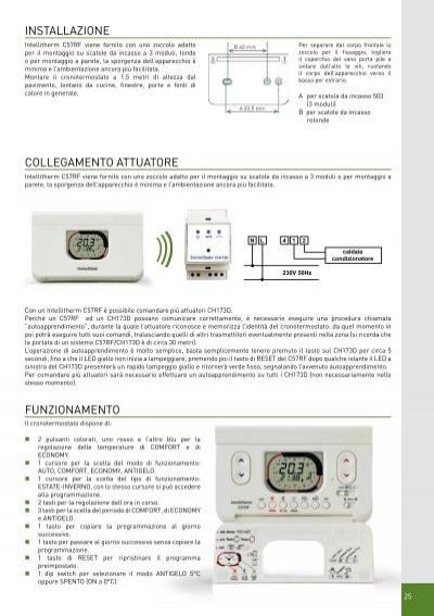 Installazione intellither for Fantini cosmi c51t