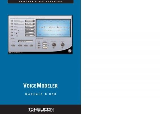 voicemodeler
