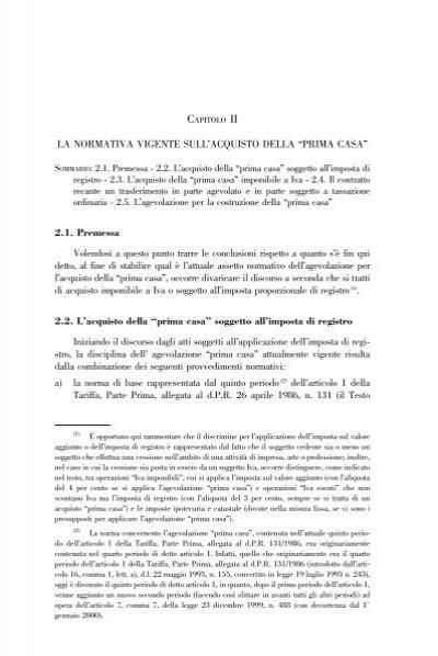 La normativa vigente sull 39 acquisto della prima casa notaio busani it - Tasse sull acquisto della prima casa ...