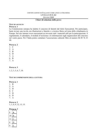 esame cils b2 2014 pdf