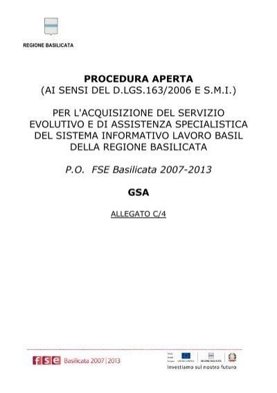 gsa basilicata