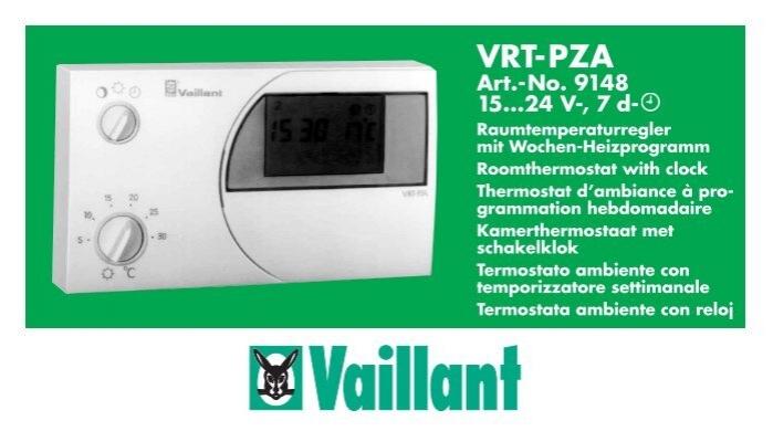 vaillant calormatic 240f pdf