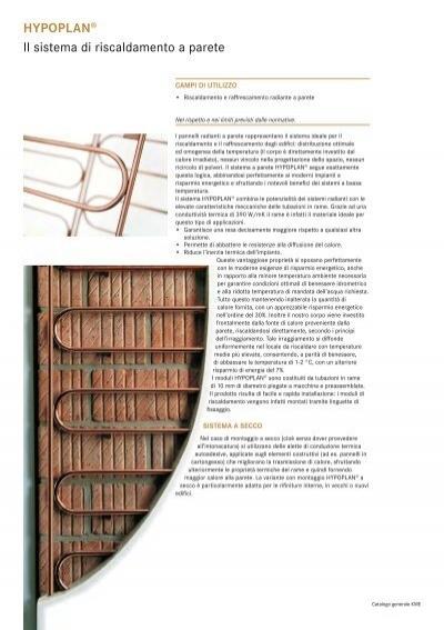 Hypoplan il sistema di for Isolamento per tubi di riscaldamento in rame