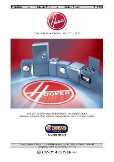 FILTRE HEPA T57-04365030 HOOVER
