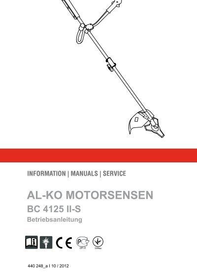 Al-KO-bc 223 B-gasolina-Motorsense