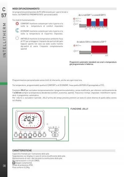 Installazione int for Intellitherm c57
