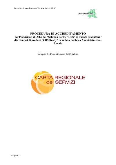 Allegato 7 Agenda Digitale Lombarda Regione Lombardia