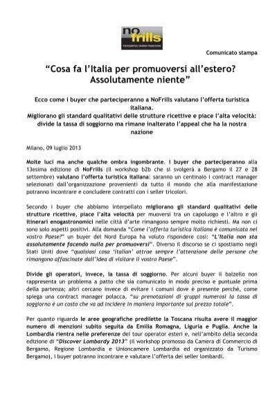 """""""Cosa fa l\'Italia per promuoversi all\'estero ... - GuidaViaggi"""