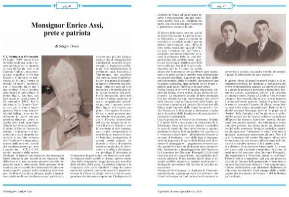 Monsignor enrico assi prete e patriota chiesa di milano - Assi vimercate piastrelle ...