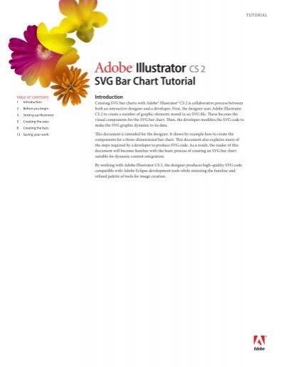 Adobe Illustrator Cs2 Svg Bar Chart Tutorial