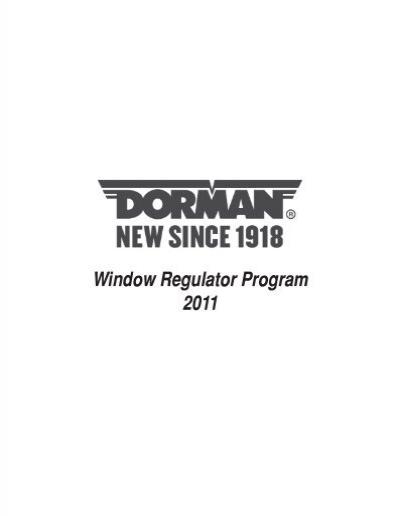 Dorman 741-627 Chrysler//Dodge Front Passenger Side Window Regulator with Motor