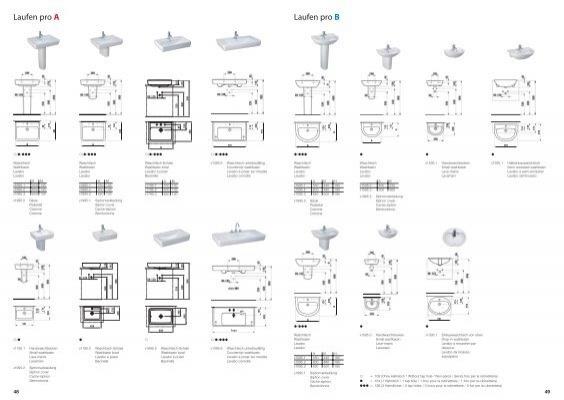 laufen pro a laufen pro b hardys24. Black Bedroom Furniture Sets. Home Design Ideas