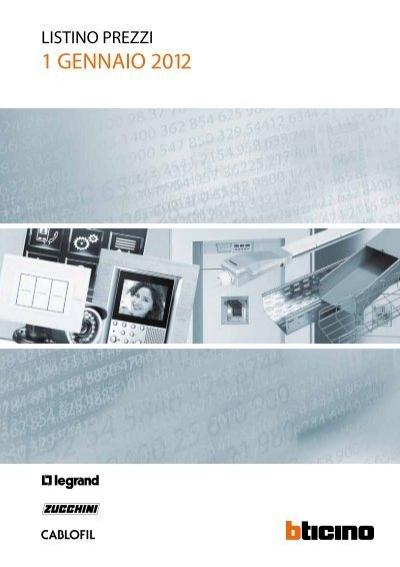 BTicino Spa LEGRAND 030213 DLP-ANGOLO PIANO X MINI 20X10 BIANCO