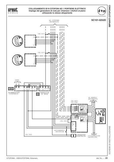 Come installare citofono urmet atlantico 1133 n for Urmet 1133 schema
