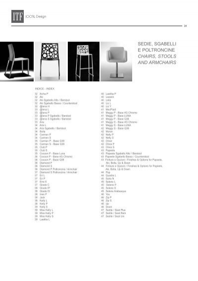 Sedie Sgabelli E Poltroncine.Sedie Sgabelli E Poltroncine Chairs Stools And Armchairs Formul Ru