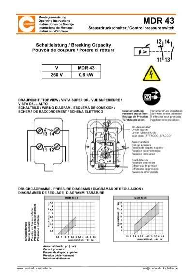 montageanleitung mdr 43 und einstellungsarbeiten pdf