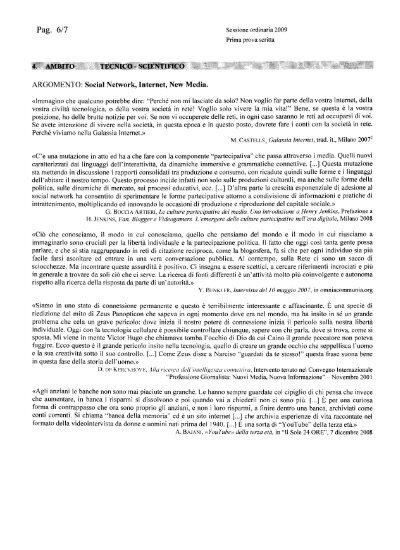 Documenti per il saggio breve su internet prof marcella - Documenti per il 730 ...