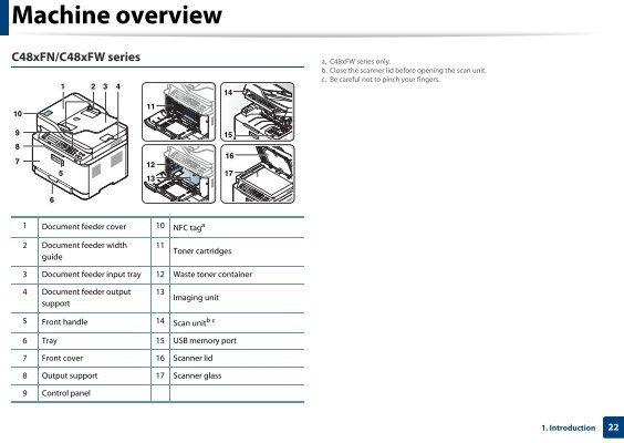 samsung xpress c460fw manual pdf